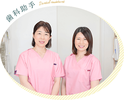 歯科助手 Dental assistant